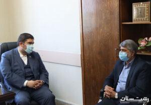 دیدار دکتر بهروزی فر با مدیرکل بنیاد مسکن انقلاب اسلامی استان گیلان